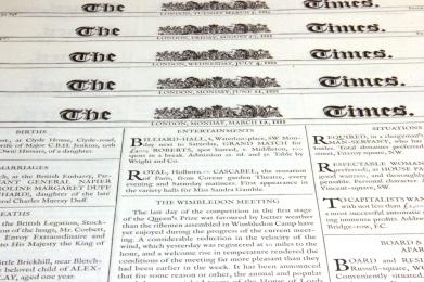 The Times - bezcenne źródło informacji