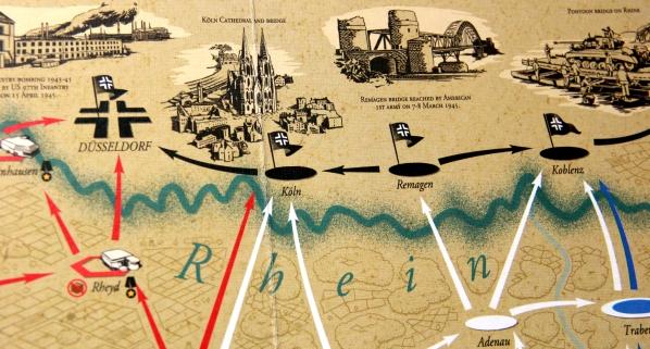 Mosty na Renie - droga do zwycięstwa