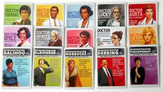 Karty lekarzy i menedżerów