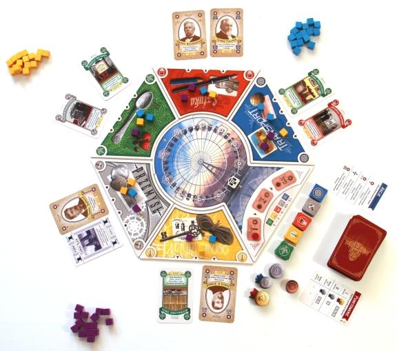 Gra przygotowana dla trzech graczy