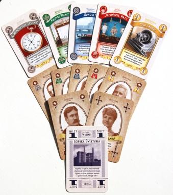 Typy kart w talii