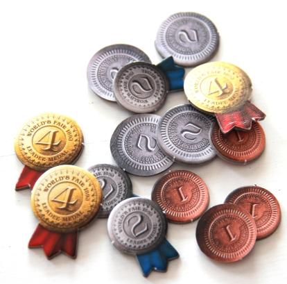 Żetony medali i monet